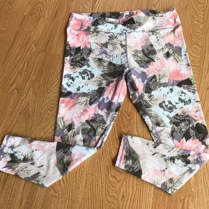 Fabletics Floral Full Length Leggings